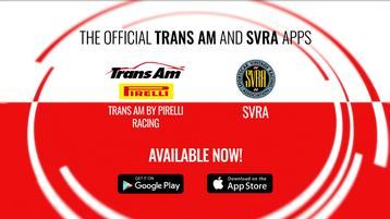 Download the Trans Am by Pirelli Racing App to Watch Live Events