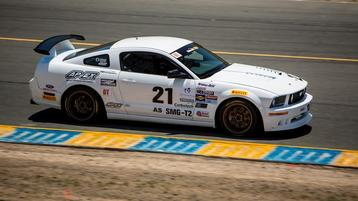 Eagleton Grabs Podium at Sonoma Maintains GT Championship Pace
